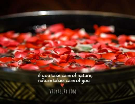 from nature, with love Vidya Sury