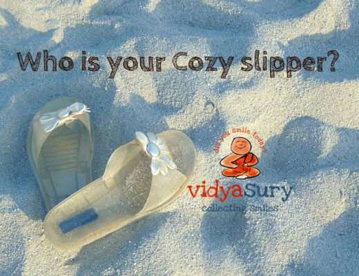 Cozy slippers Vidya Sury