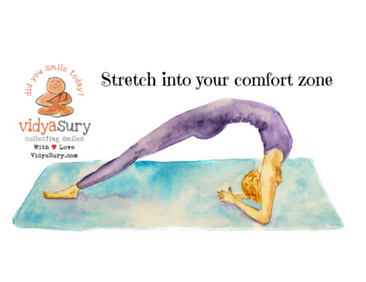 Exercise Stretch into your comfort zone #AtoZChallenge
