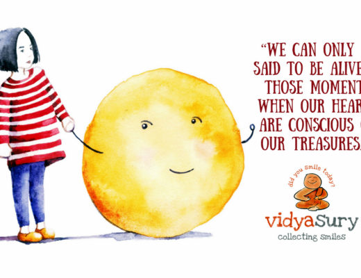 In touch with my soul. Vidya Sury May Gratitude Circle blog hop