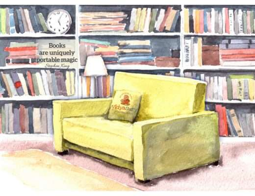 Of books, bookshelves and nostalgic memories
