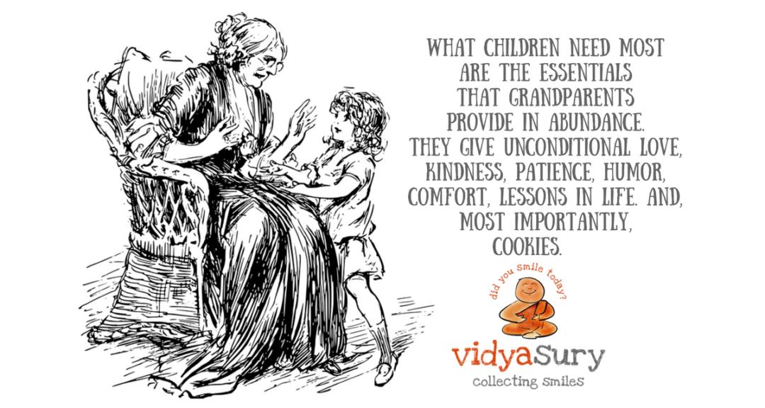 Are grandmothers becoming babysitters Vidya Sury