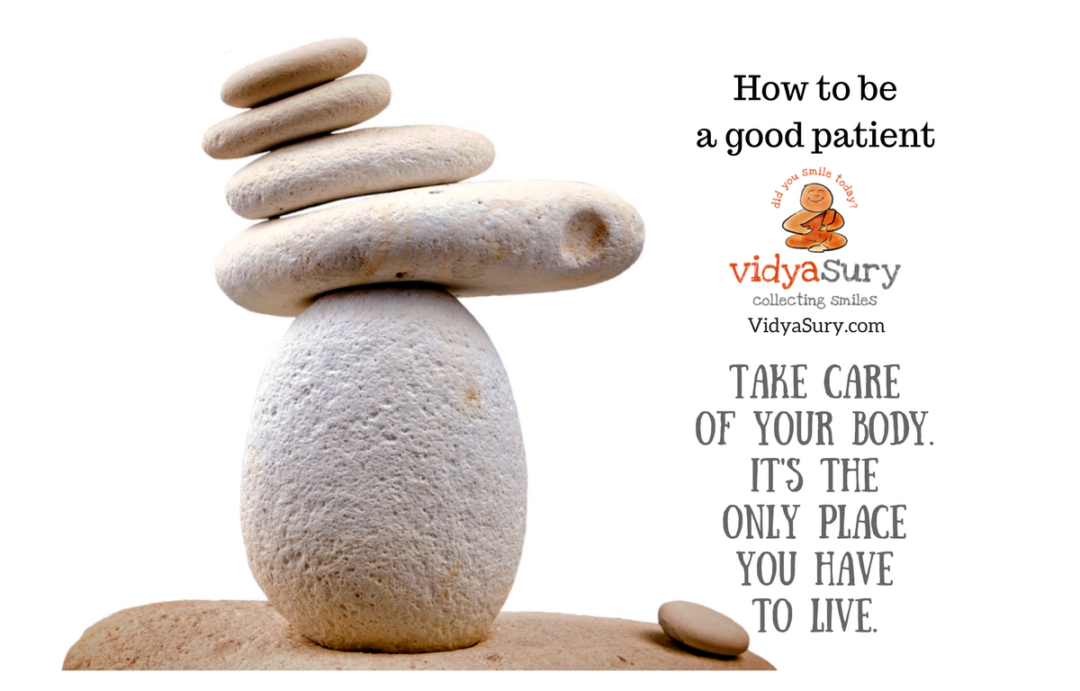 Why it's Important to Be a Good Patient #healthtips #wellness