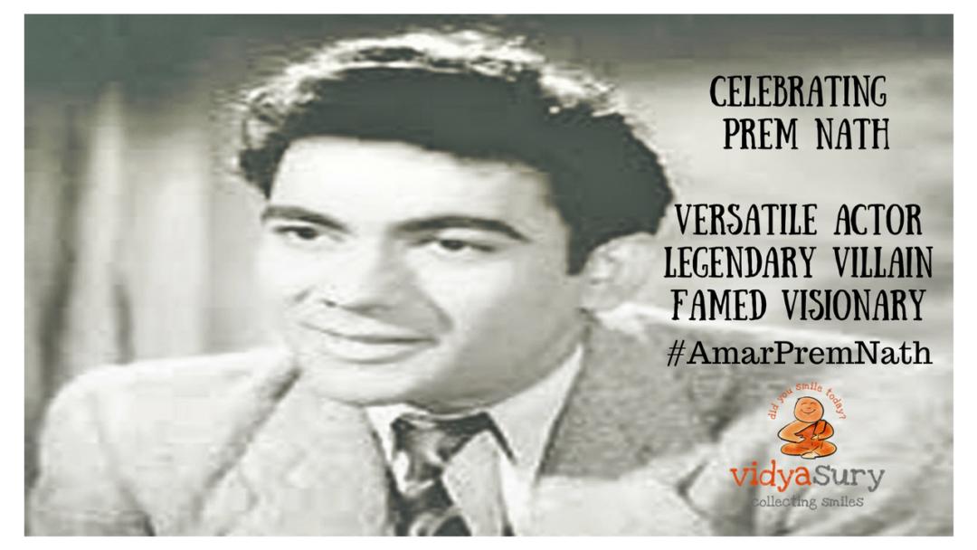 Zee Classic's tribute 'Prem Nath Film Festival' on Prem Nath's 25th death anniversary #AmarPremNath