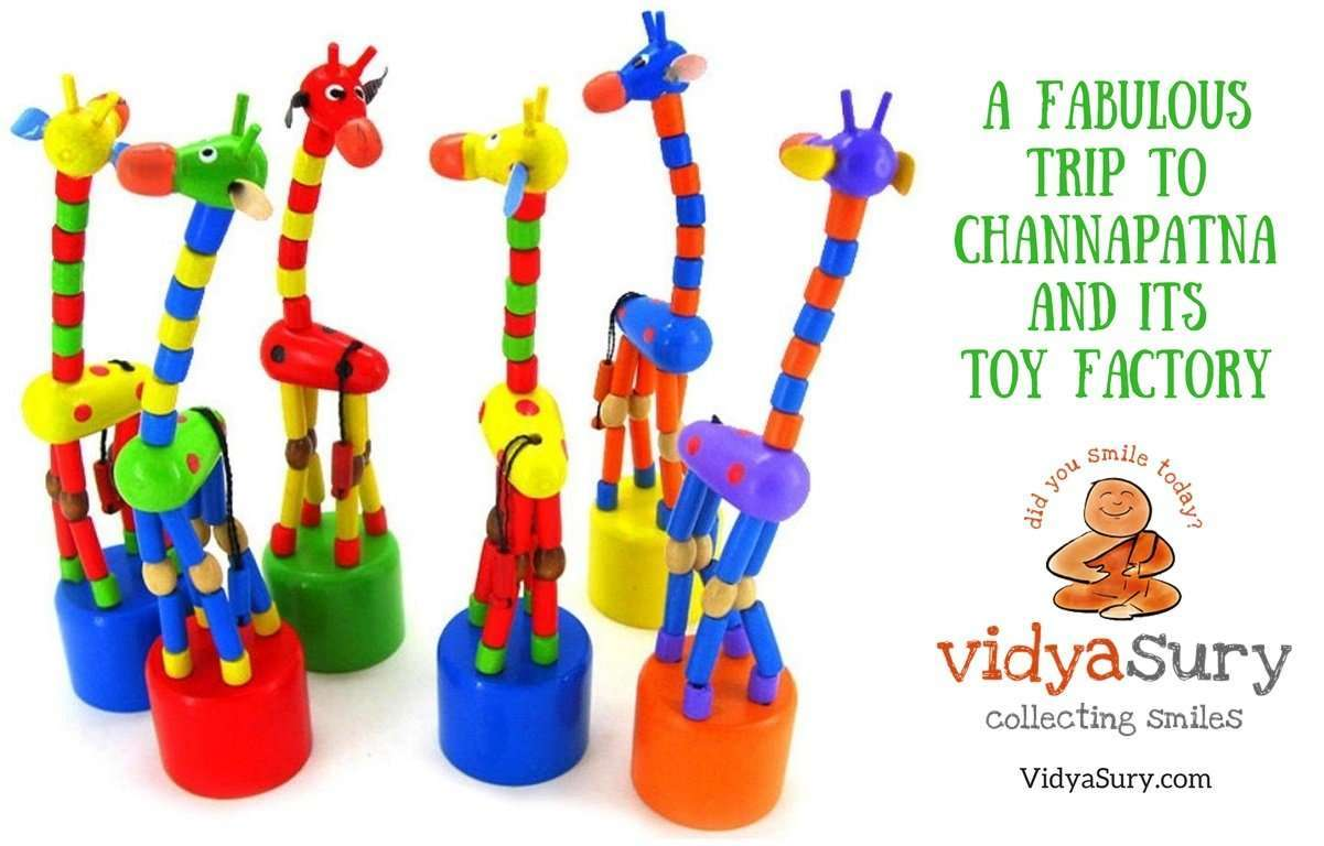 A fabulous trip to Channapatna and its toy factory #OlaRental #toys #incredibleindia #travel