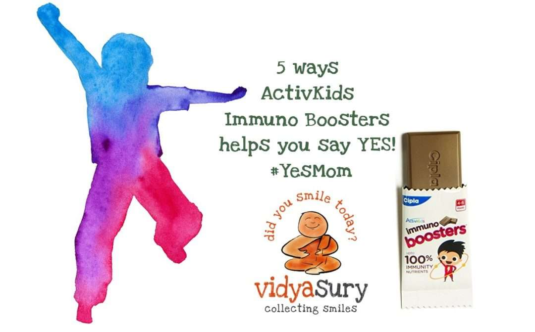 5 ways ActivKids Immuno Boosters helps you say YES! #YesMom #KidsHealth #HealthyKids #BoostImmunity
