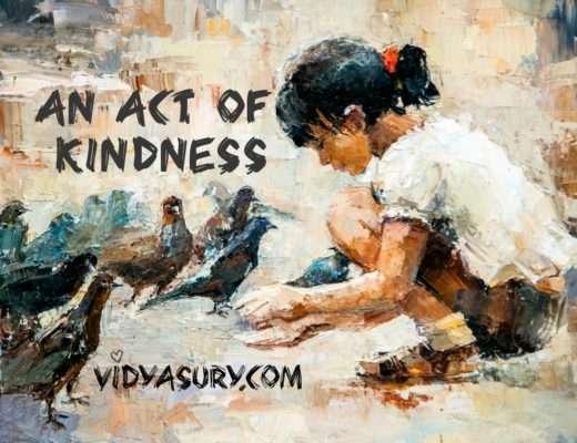 An Act of Kindness #AtoZChallenge #Gratitude