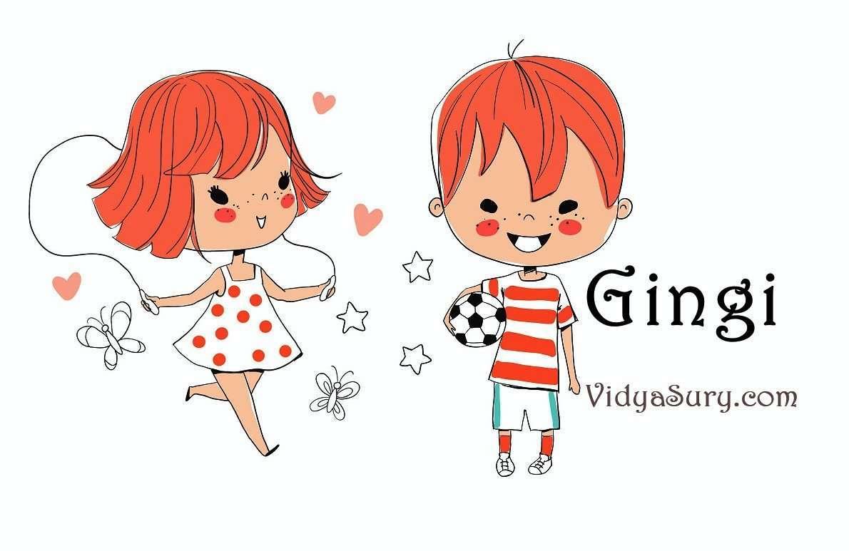 Gingi #AtoZChallenge #Childhood #Humor