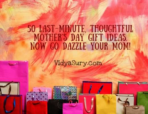 50 Mothers Day Gift Ideas to Dazzle your mom. #MothersDay #GiftIdeas #love
