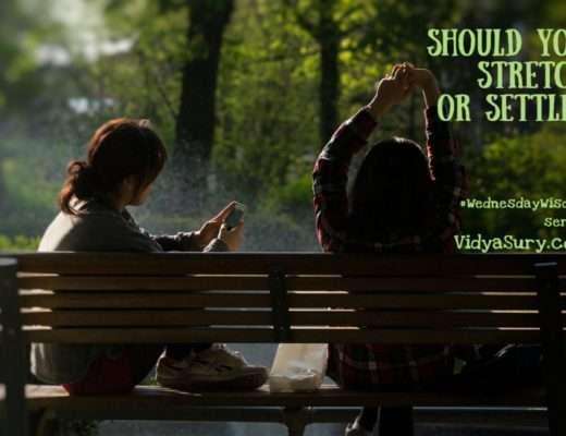 Should you stretch or settle #WednesdayWisdom #mindfulness #selfhelp