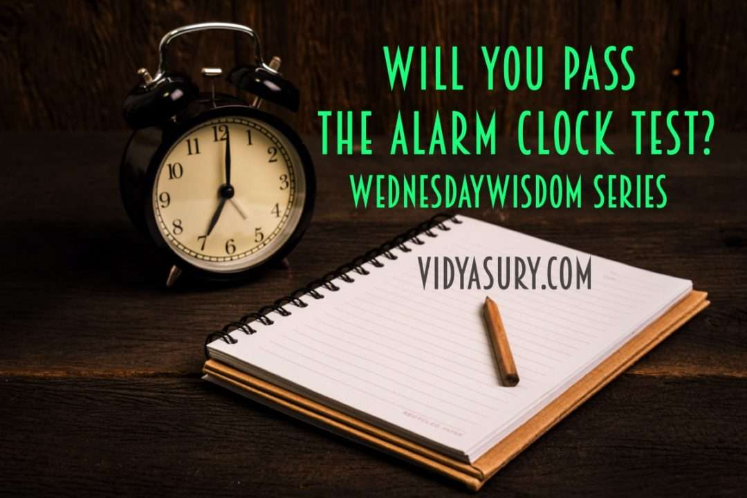 Will you pass the alarm clock test