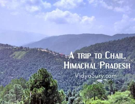 A trip to Chail, Himachal Pradesh