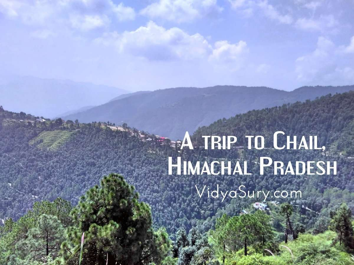 A trip to Chail, Himachal Pradesh