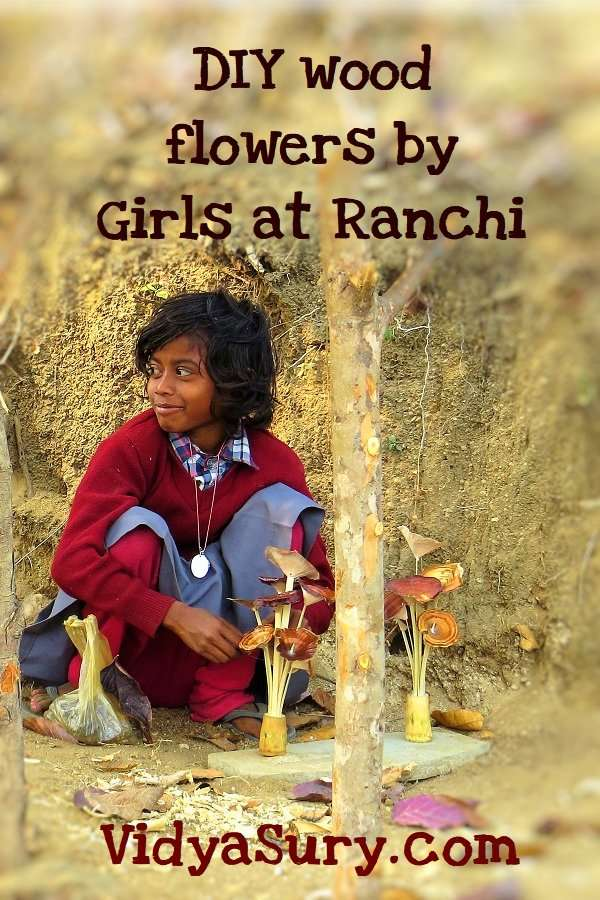 Girl power DIY wood flowers Ranchi_Fotor