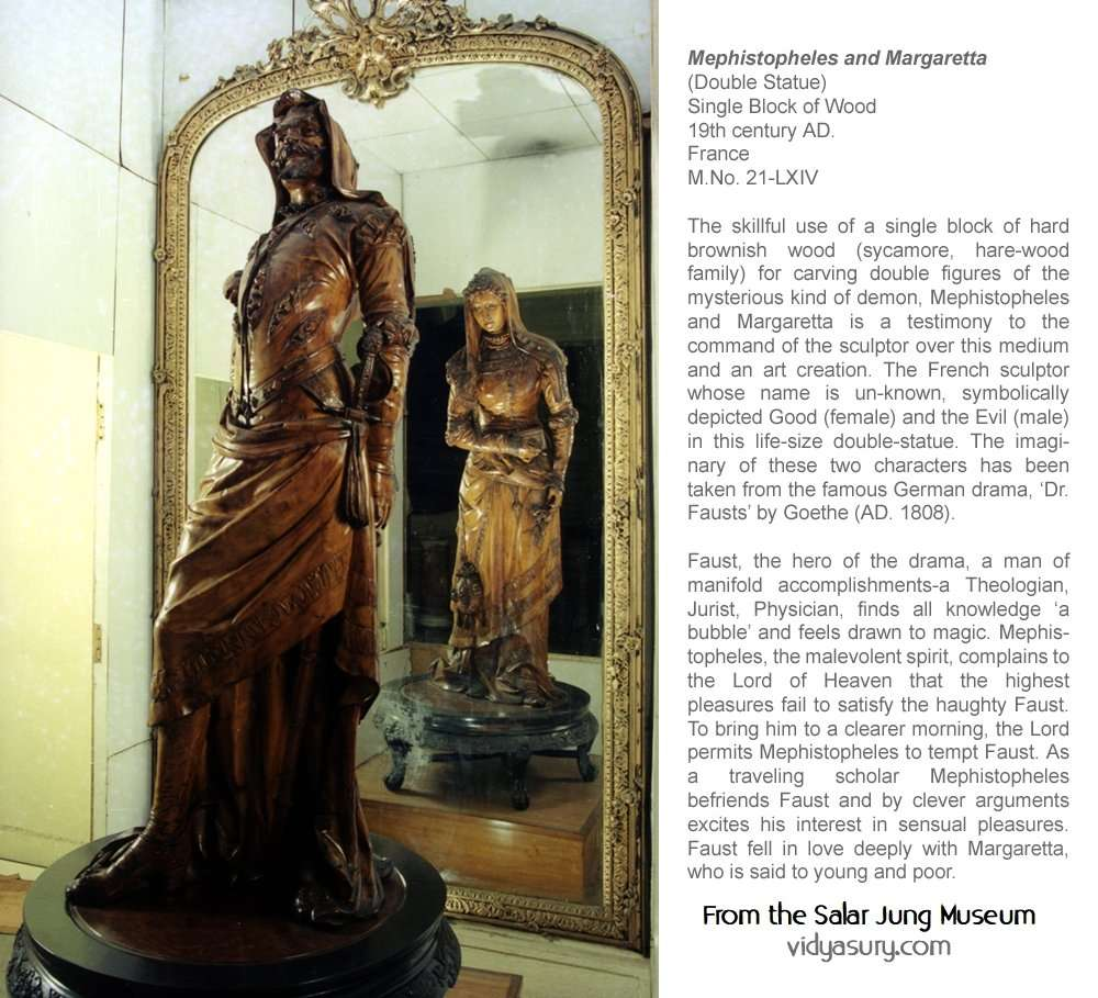 At the Salar Jung Museum: top 5 places to visit in Hyderabad