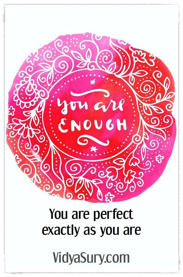 You are enough #inspirationalquotes #selflove #selfcare