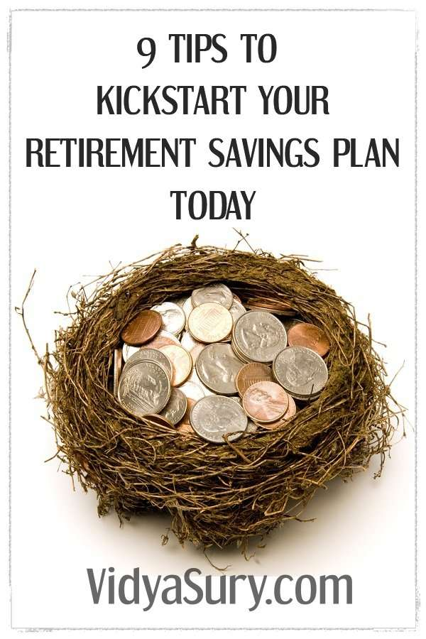 9 tips to kickstart your retirement savings plan right away #futureplanning #retirementplanning #financialplanning #moneymatters