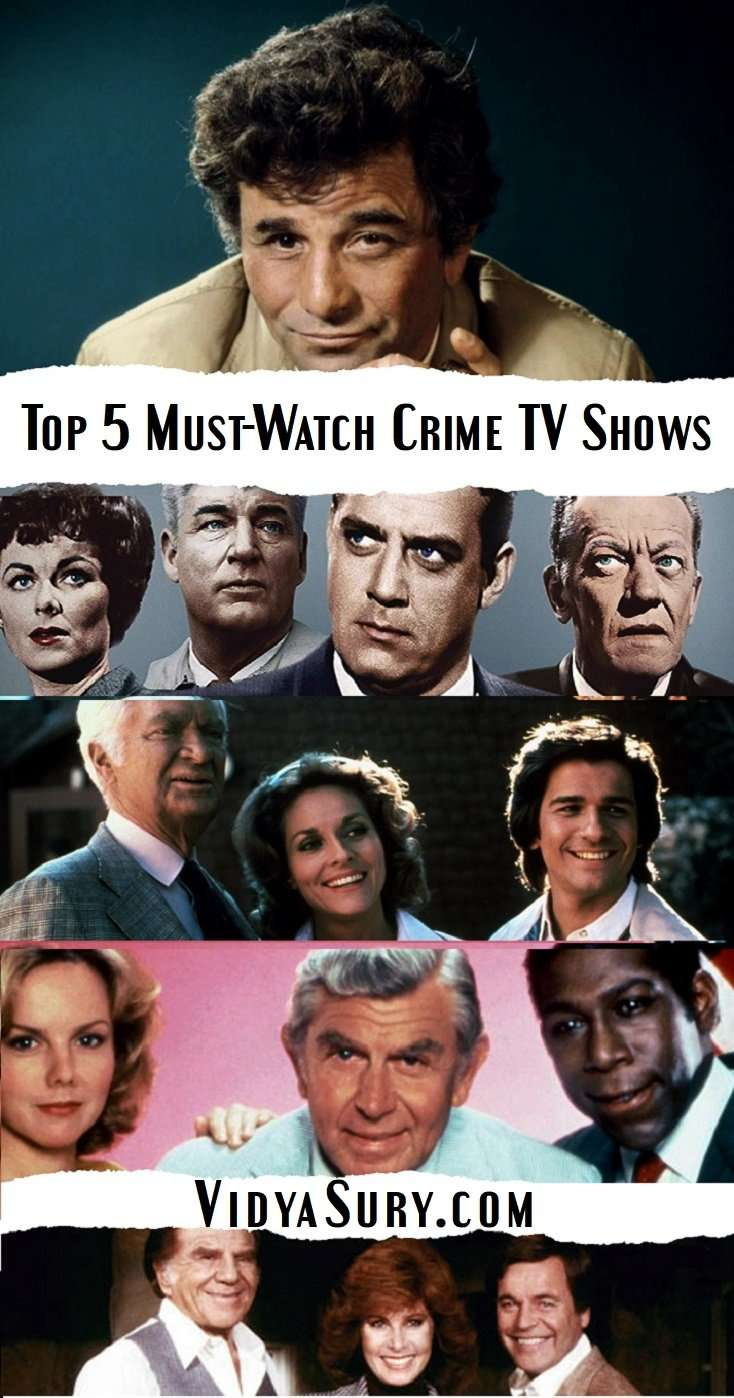 My Top 5 Must-Watch Crime Fiction TV Shows #crimefiction #thriller #entertainment #TVShows