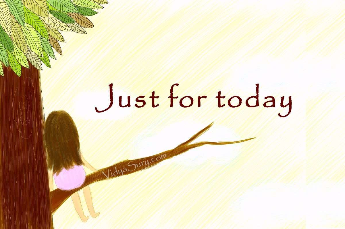 Just for today #wednesdaywisdom #affirmation