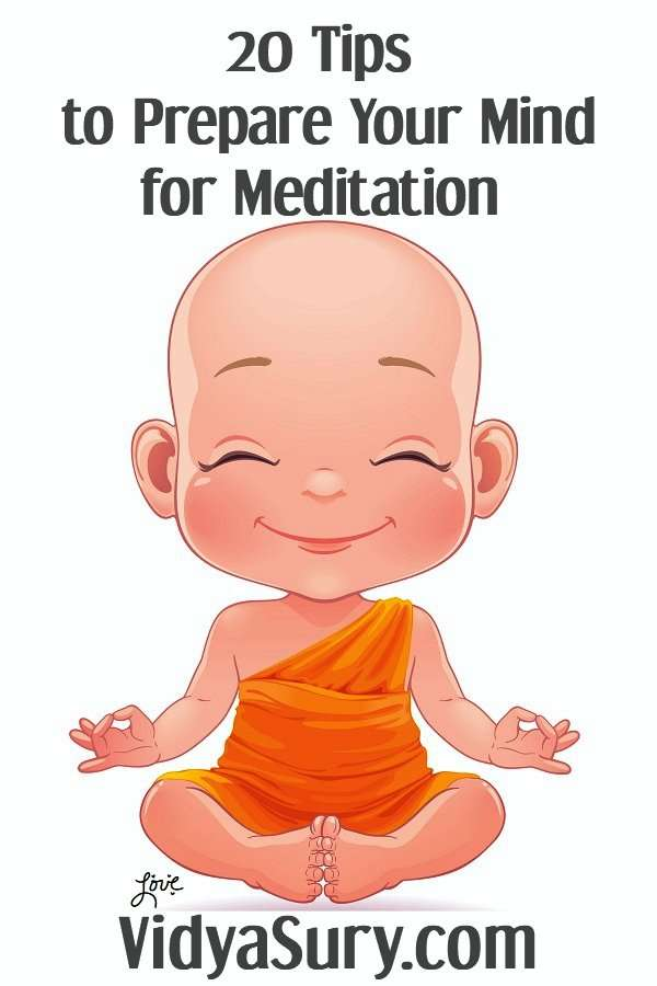 20 tips to prepare your mind for meditation