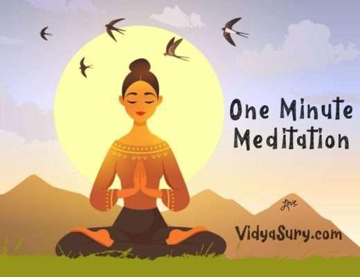 One Minute Meditation