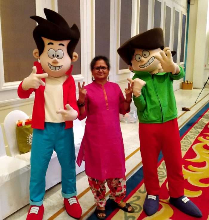 With Gopal and Madhav of Golmaal Jr.