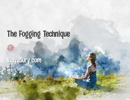 How to use the fogging technique to build your emotional intelligence