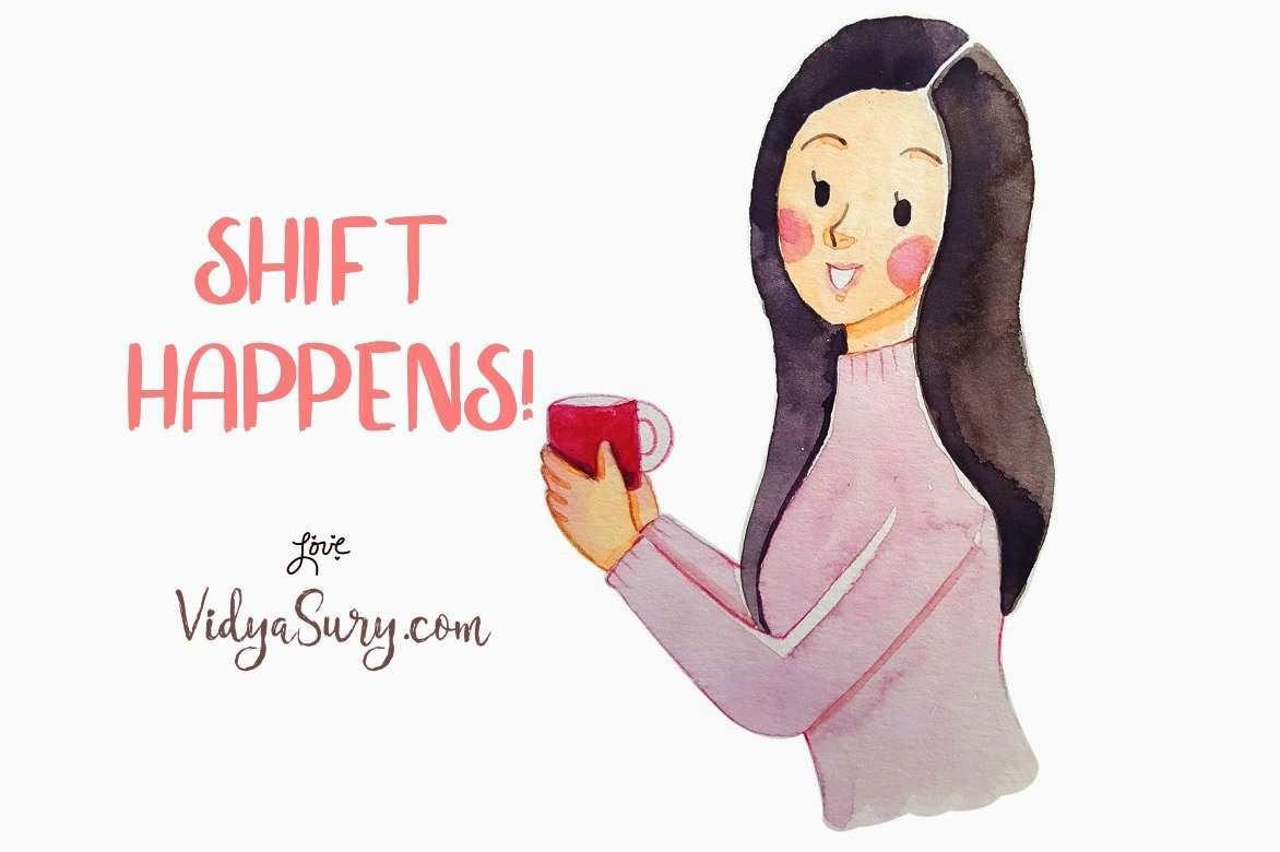 Shift Happens. August 2019 Gratitude Circle blog hop