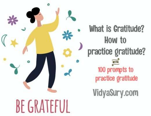 What is gratitude? How to practice Gratitude? 100 prompts for gratitude journal