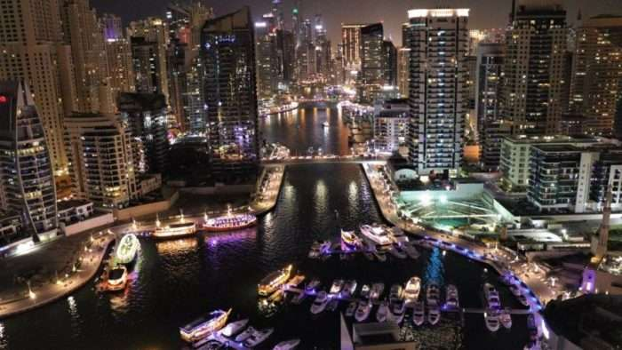 Dubai marina Interesting Things to See in Dubai