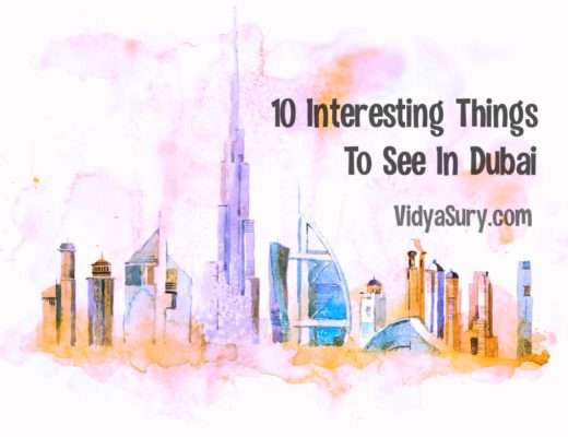 Ten interesting things to see in Dubai