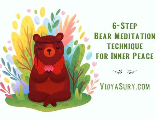 6 step bear meditation technique for inner peace