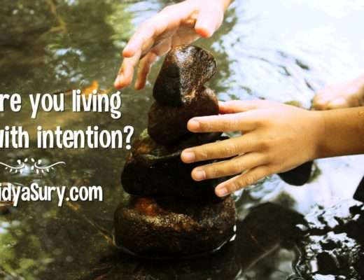 Are you living with intention 2