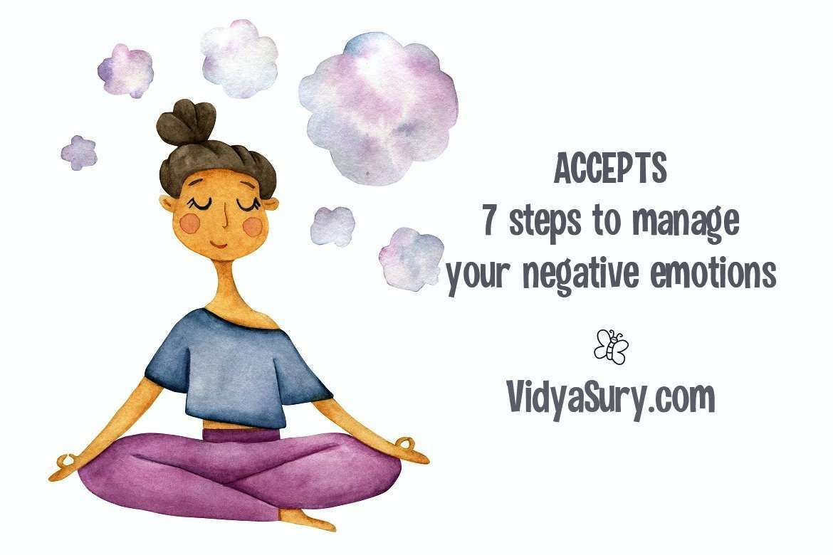 ACCEPTS 7 step process to manage negative emotions