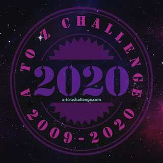 April A to Z Challenge blog hop 2020