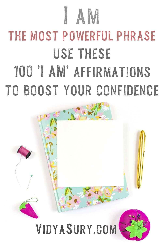 100 I am Affirmations
