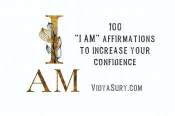 100 I am affirmations to increase confidence