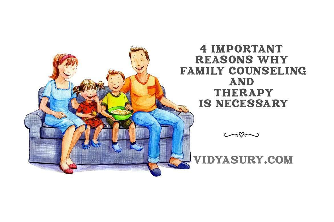 4 important reasons why Family counseling and therapy are necessary
