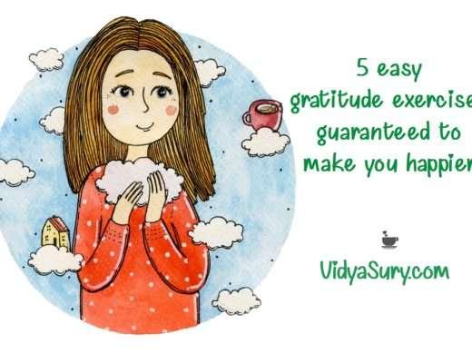 5 easy gratitude exercises guaranteed to make you happier