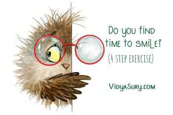 Do you find time to smile