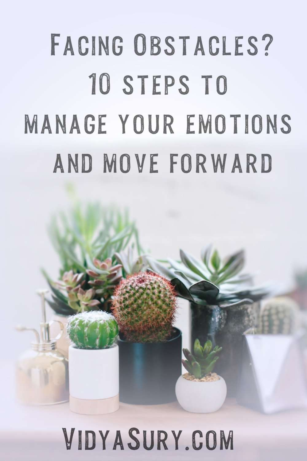 Facing obstacles 10 steps to manage your emotions