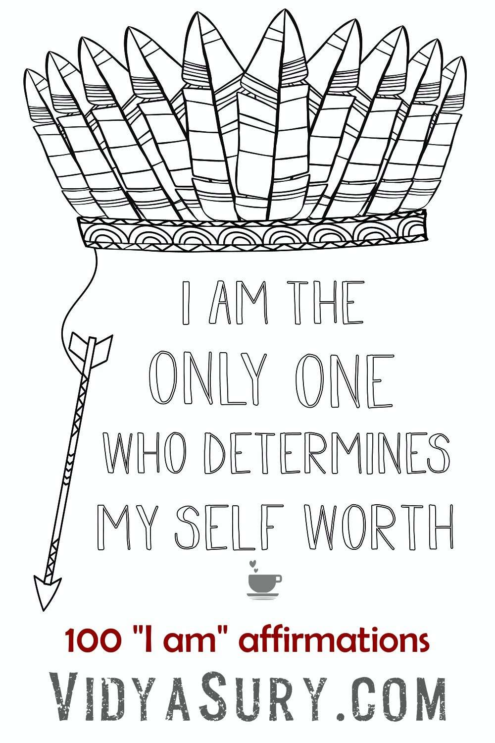 I am the only one who determines my self worth