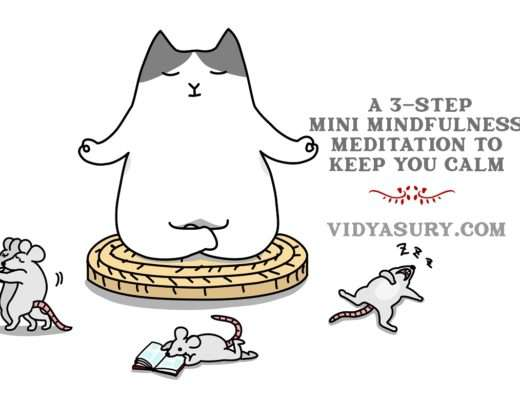 A 3 step mini mindfulness exercise