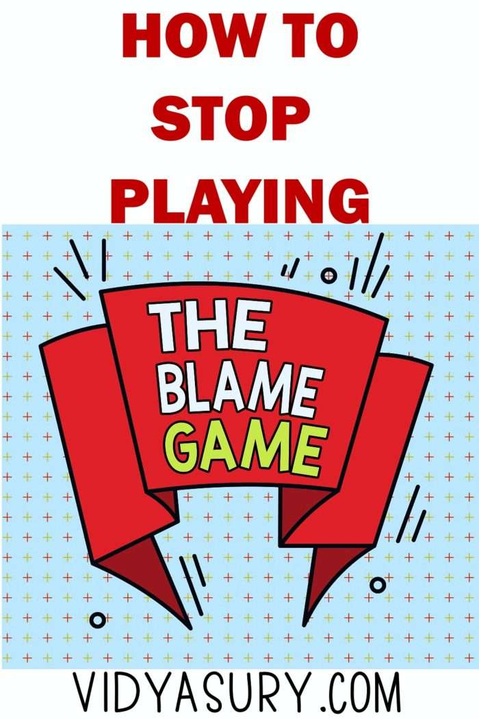 How to stop playing the blame game_Fotor