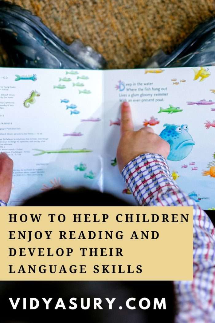 How to help children enjoy reading and develop language skills