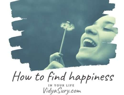 How to find happiness in your life