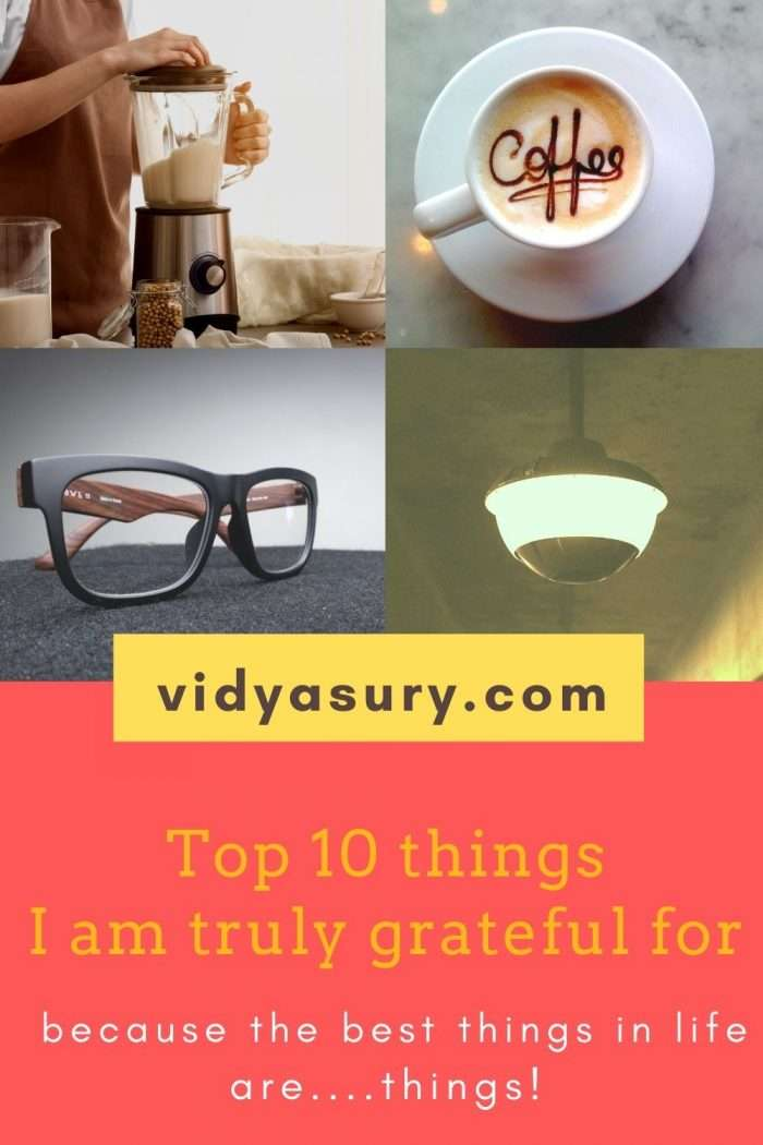 Top 10 things i am grateful for today