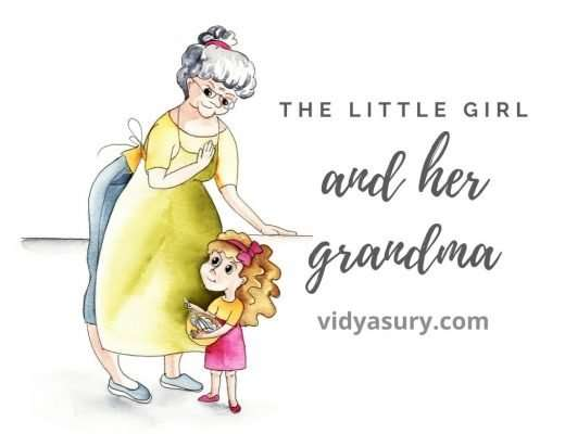 the little girl and her grandma