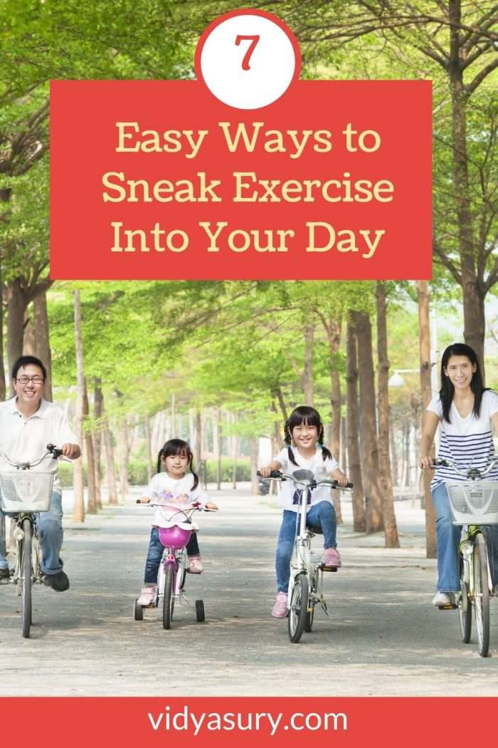 7 easy ways to sneak exercise into your day