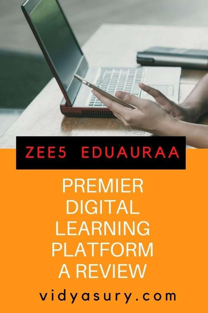 EDUAURAA premier digital learning platform - a review